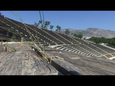 Athens Olympics Venues Become New Greek Ruins