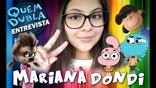 Quem Dubla Entrevista Mariana Dondi YouTube Videos