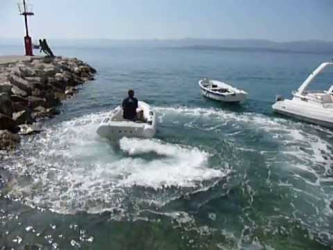 Jet tender 250, world lightest yacht jet tender boat