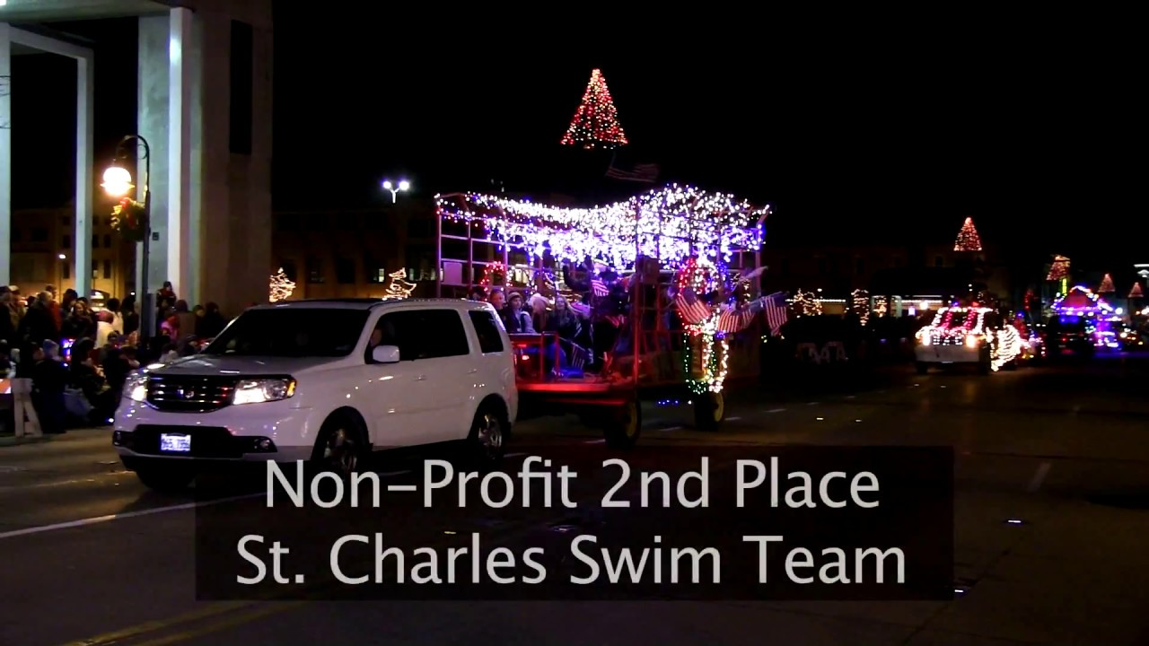 2016 electric christmas parade downtown st charles partnership youtube