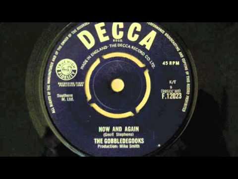 The Gobbledegooks Now And Again (Decca Records) 1964