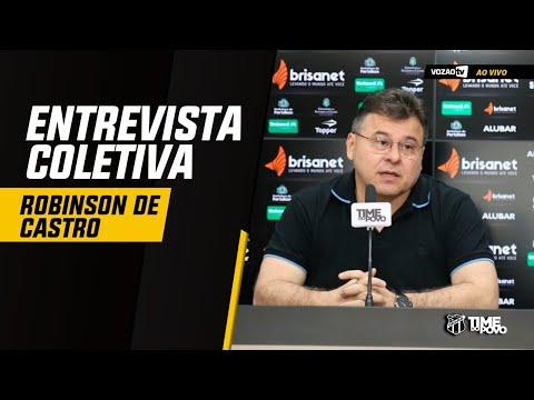 COLETIVA Coletiva Robinson de Castro  21082019  Vozão TV