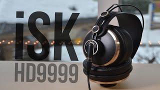 iSK HD9999 Studio Headphones Review