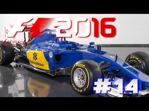 F1 2016 Deutsch Lets Play #14 Sauberer StaubSauber für Saugeile Saudis in der Sauna  - [HD]