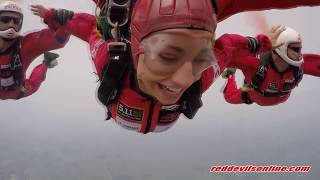 Ferne McCann - Tandem Skydive for the Queen