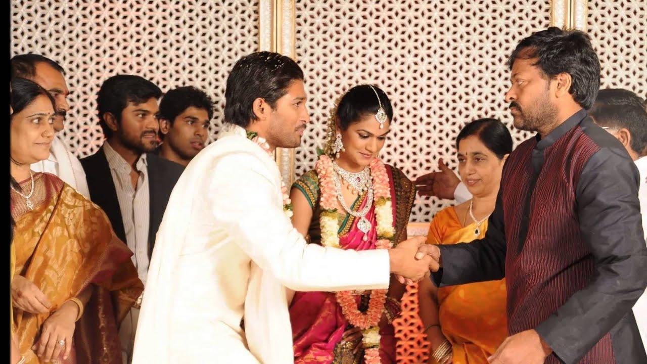 Actress Amitabh Bachan At Allu Arjun Wedding