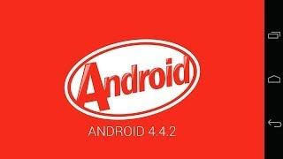 Easter eggs Nexus 5 Android version KitKat 4.4.2