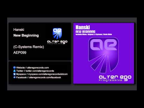Hanski - New Beginning (C-Systems Remix) [Alter Ego Progressive]