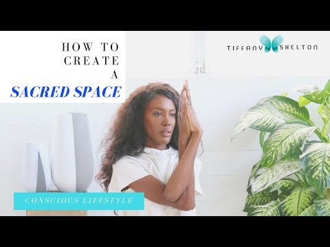 How to create a meditation space in a small apartment, How to create a sacred space