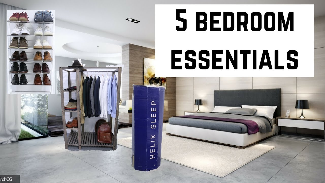 5 bedroom essentials to upgrade your room youtube for Bedroom necessities