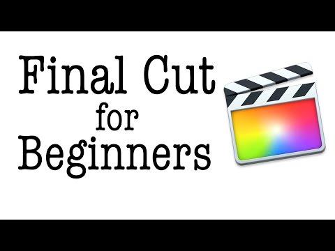 Final Cut Pro X - Die ersten Schritte (Anfänger Tutorial)