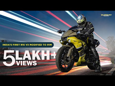 Building India's first Yamaha R15 V3 with R1M Kit | Project V3 | Murshid Bandidos Vlog