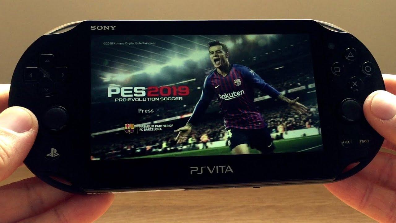 Pro Evolution Soccer 2019 PS Vita Remote Play Gameplay