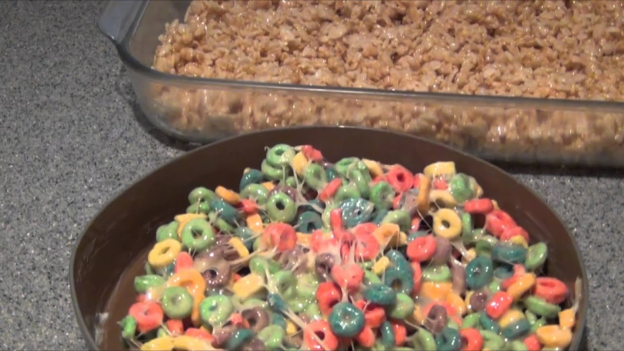 Marshmallow cereal bars fantasy baking youtube ccuart Images