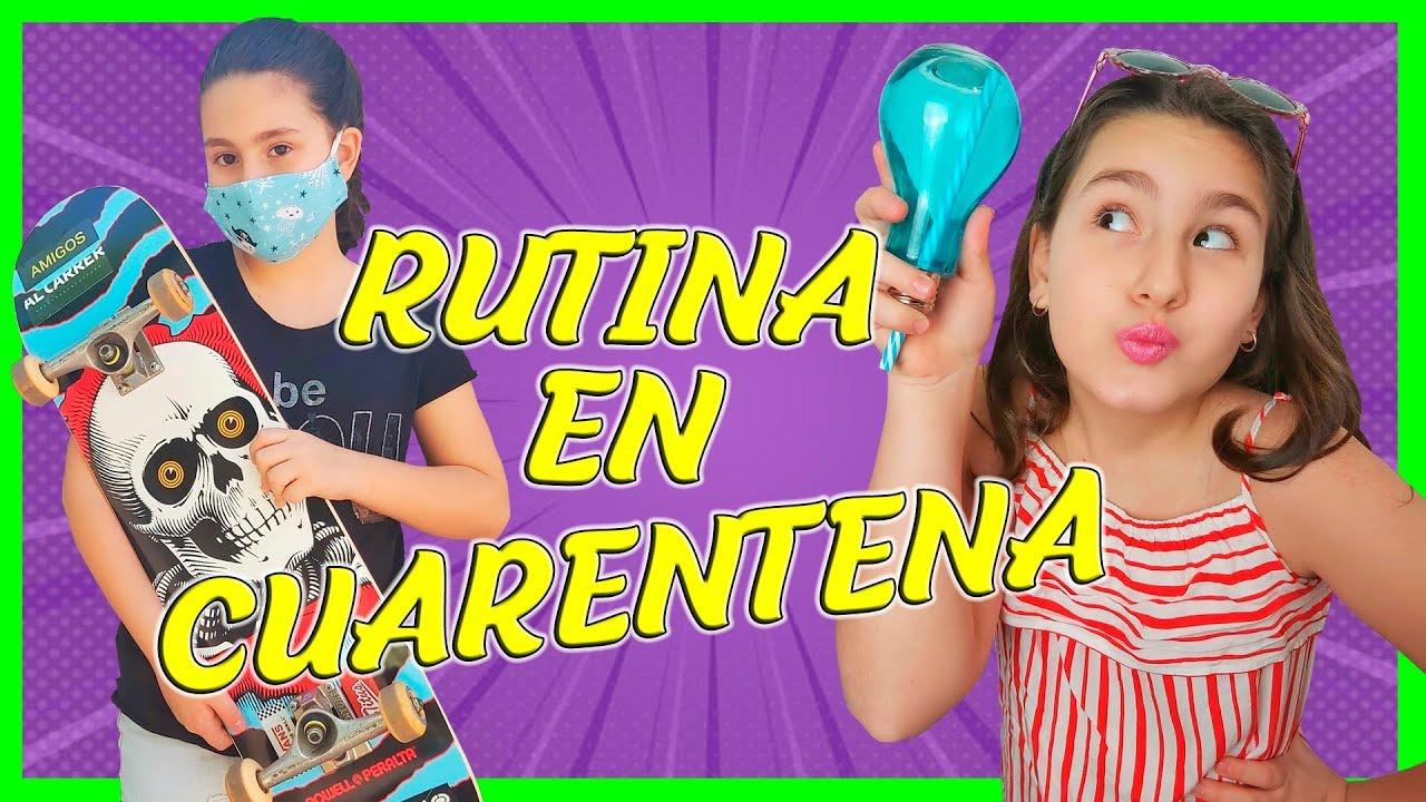 RUTINA EN CUARENTENA SALGO A LA CALLE - JANA LIKES