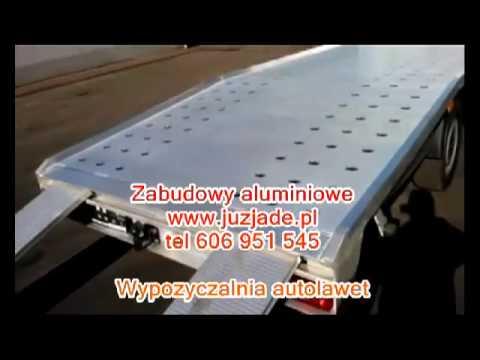 Platforma Aluminiowa Www Juzjade Pl Zabudowy Aluminiowe Autolaweta
