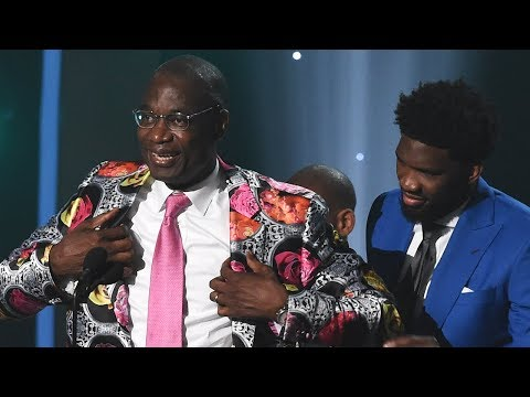 Dikembe Mutombo - Sager Strong Award - 2018 NBA Awards