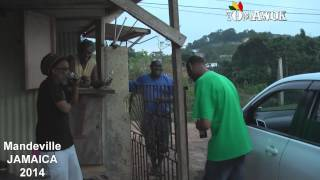 TOMAWOK FREESTYLE IN JAMAICA