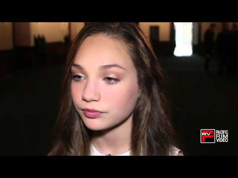 Maddie Ziegler wants to meet Zac Efron plus reaction on being part of SYTYCD plus Dance Mom cast rea