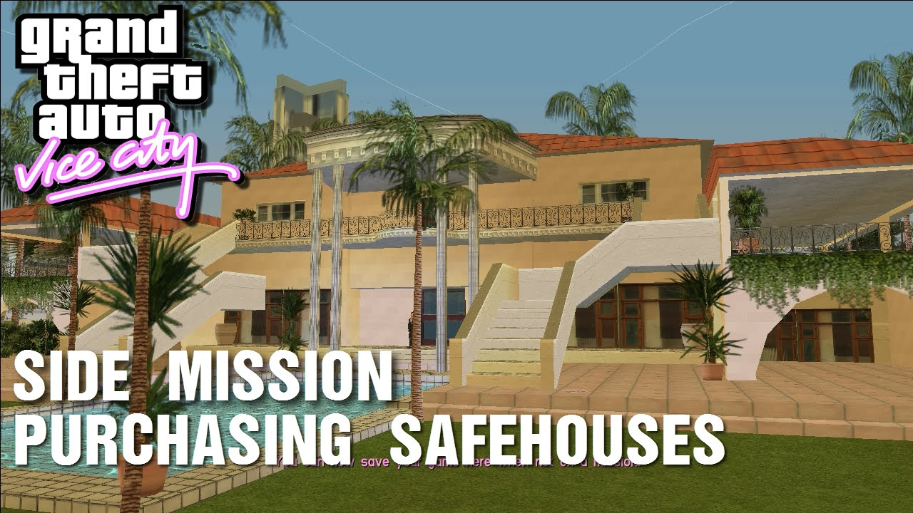 GTA: Vice City - Side-Mission - Purchasing Safehouses