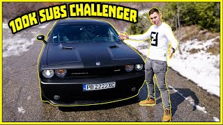 100 000 АБОНАТА ! DODGE CHALLENGER !
