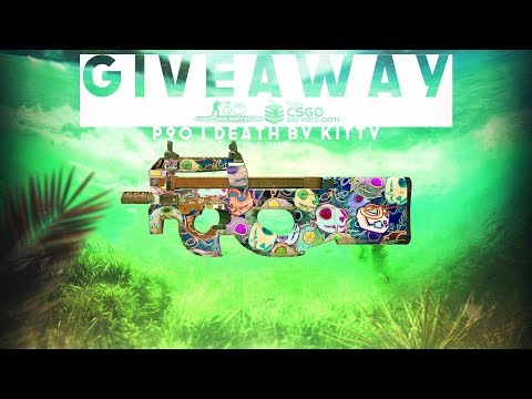 CS:GO GIVEAWAY #62 (P90 | DEATH BY KITTY | FT)