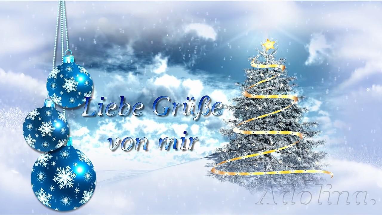 Guten Rutsch ins neue Jahr...Ich wünsche dir einen schönen Winter ...