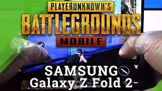 PubG Gameplay on Samsung Galaxy Z Fold 2 – Performance Test