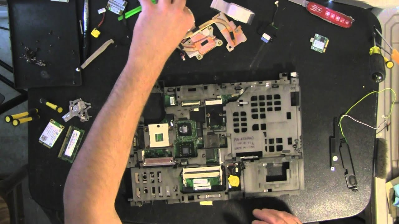 lenovo t400 laptop take apart video how to open dissasemble video rh youtube com thinkpad t400 service manual lenovo thinkpad t400 service manual