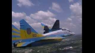 МиГ  29 Украинские Соколы клип// MiG 29 Ukrainian Falcons aerobatic team clip