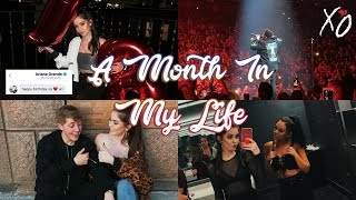 A MONTH IN MY LIFE (18TH BIRTHDAY, THE WEEKND, ETC.)