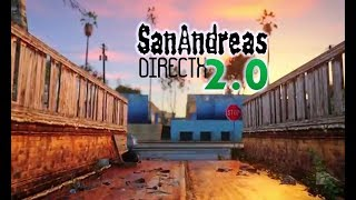Gta san andreas Directx 2.0 mod || how to install || gameplay || comparison