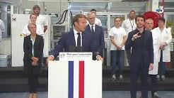 A Etaples, Emmanuel Macron annonce un vaste plan automobile