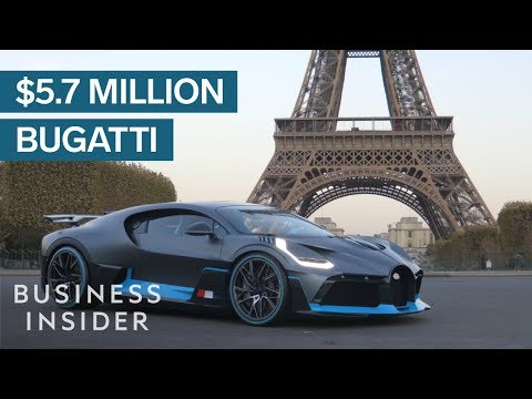 Take A Look At The New $5.7 Million Bugatti Divo
