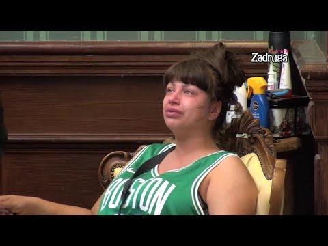 Zadruga 4 - Miljana završila u suzama zbog svađe sa Kristijanom, drama se nastavlja - 14.09.2020.