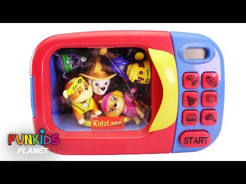 Thumbnail: Learn Colors Videos Kids: Paw Patrol Microwave Appliances Turns Paw Patrol Pups into Cowboy & Ninjas