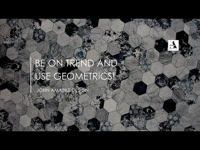 Be On Trend With Geometrics  I How To Use Them In Interior Design