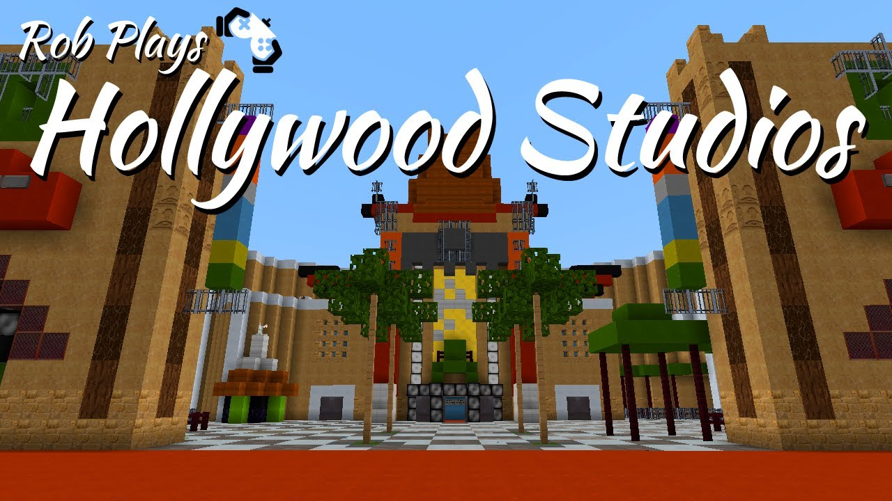 Minecraft Disney World Hollywood Studios Part MCMagic YouTube - Mcmagic us map download