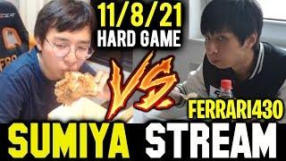 SUMIYA Invoker Very Hard Game against Ferrari430 | Sumiya Stream Moment #622