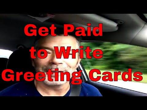 Get Paid to Write Greeting Cards,