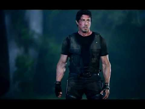 Stallone Expendables 2 photo video - YouTube