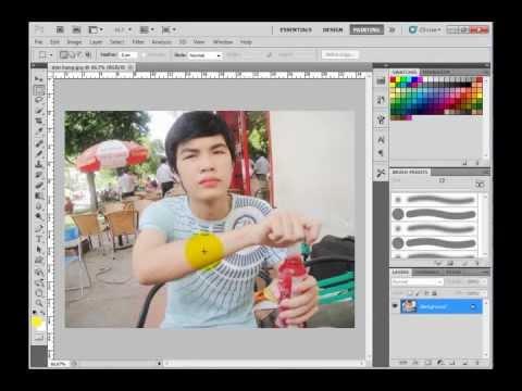 Hướng dẫn ghép ảnh trong Photoshop CS5