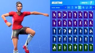 POISED PLAYMAKER (EGYPT) SKIN SHOWCASE WITH ALL FORTNITE DANCES & EMOTES