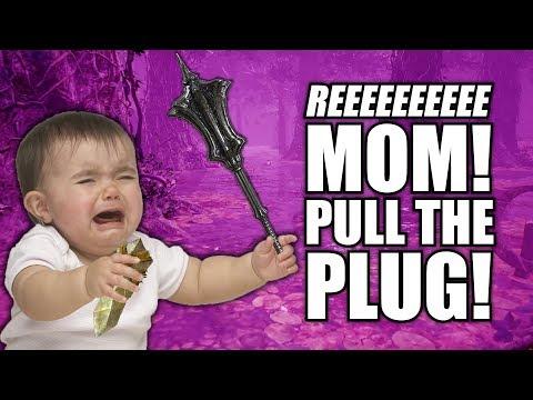 Baby Rage Quit - 3v1 Gank Spank Dark Souls 3 Invasion