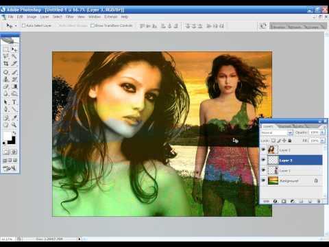 Photoshop CS2 - Phan 9 - Bai 1 - Ky thuat dem nen trang