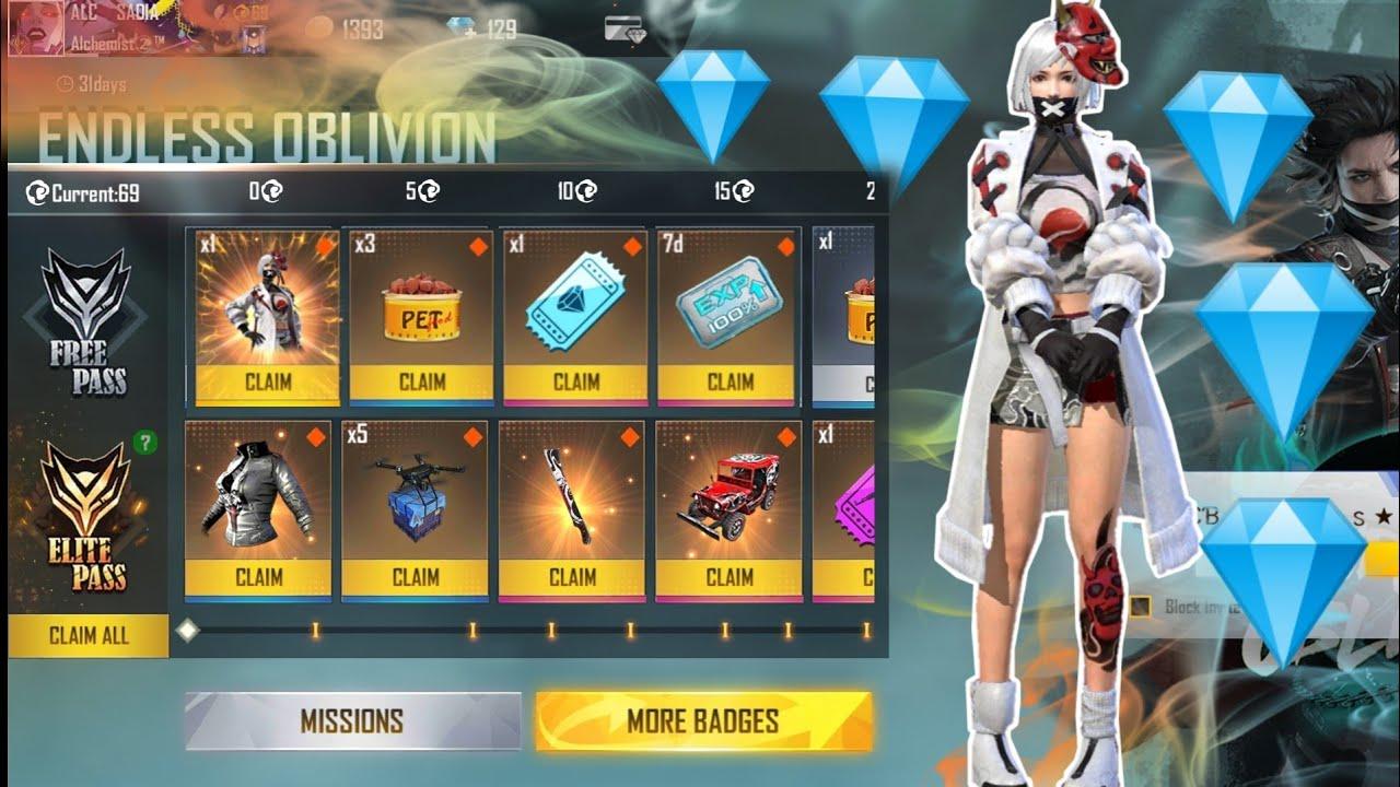 Unlocking Elite Pass Season 31 😵😵|| Garena Free Fire❤️🥰|| By Sadia's Gaming
