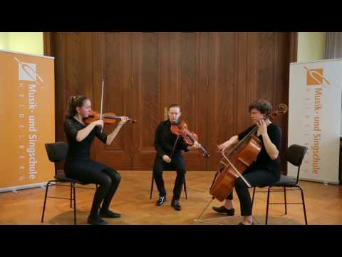 Jean Cras Trio à cordes - Très animé