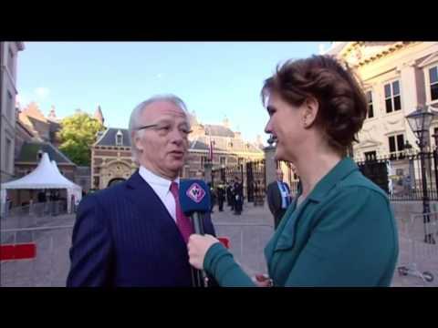 Burgemeester Jozias van Aartsen vooral bezig met de veiligheid op Prinsjesdag