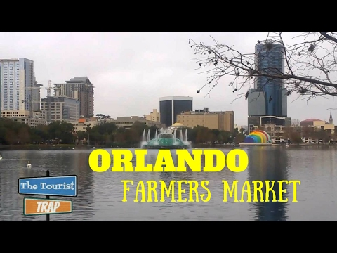 Orlando Farmers Market Lake Eola