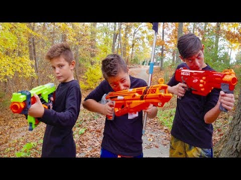 Thumbnail: Nerf War: Capture the Flag 3